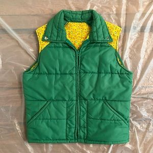 1970s Vintage Puffer Ski Vest